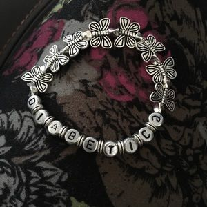 Jewelry - Diabetic Alert Butterfly Bracelet